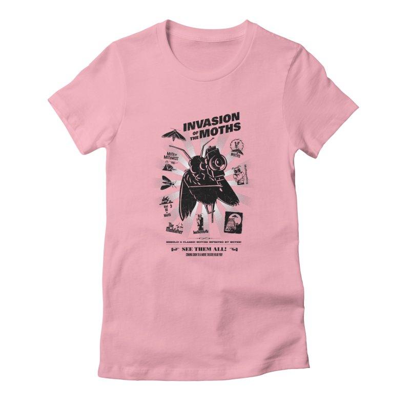 Invasion of the Moths Women's T-Shirt by Urban Prey's Artist Shop