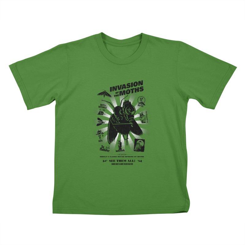 Invasion of the Moths Kids T-Shirt by Urban Prey's Artist Shop
