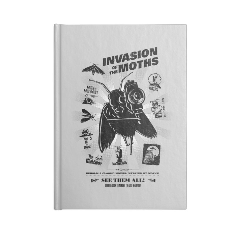 Invasion of the Moths Accessories Notebook by Urban Prey's Artist Shop