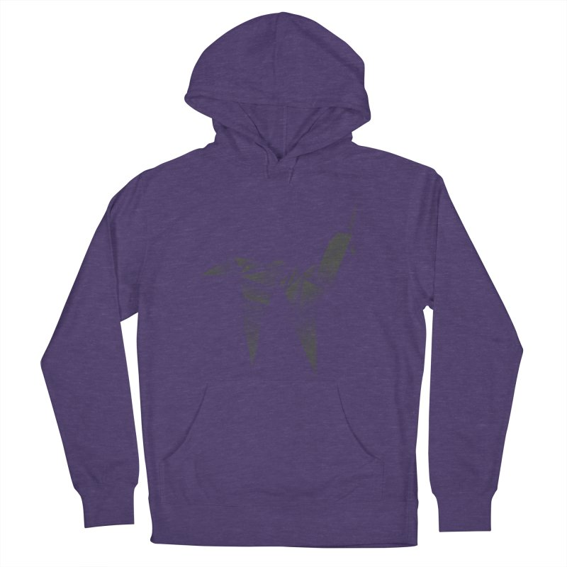Origami Unicorn Women's French Terry Pullover Hoody by Urban Prey's Artist Shop