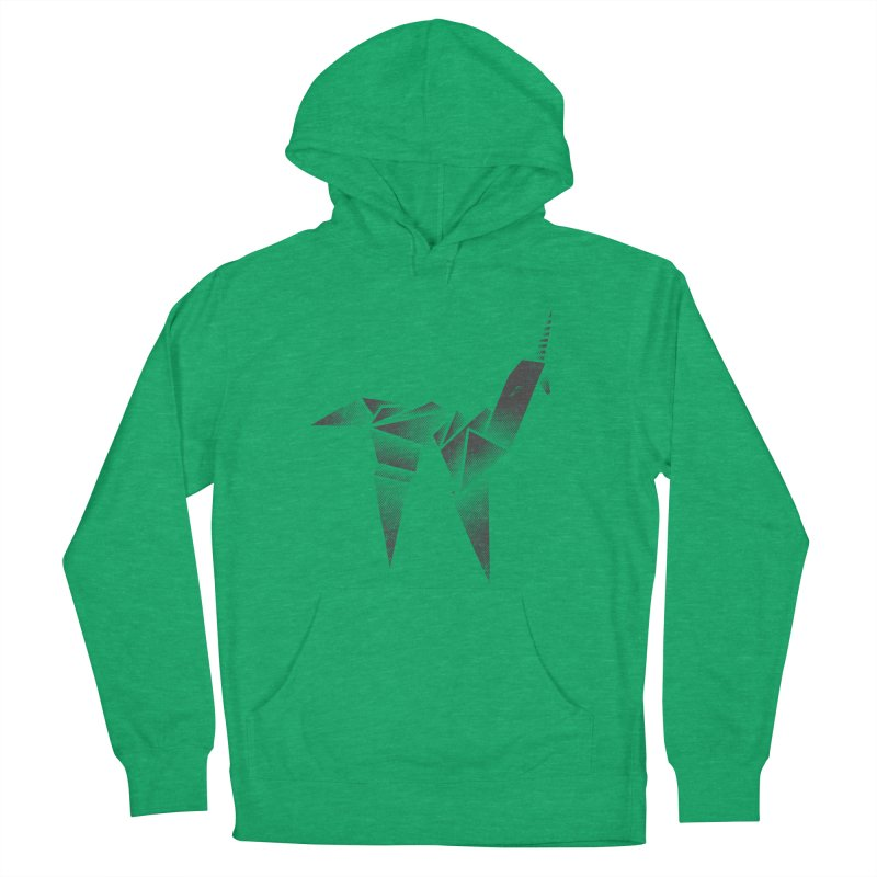 Origami Unicorn Men's Pullover Hoody by Urban Prey's Artist Shop