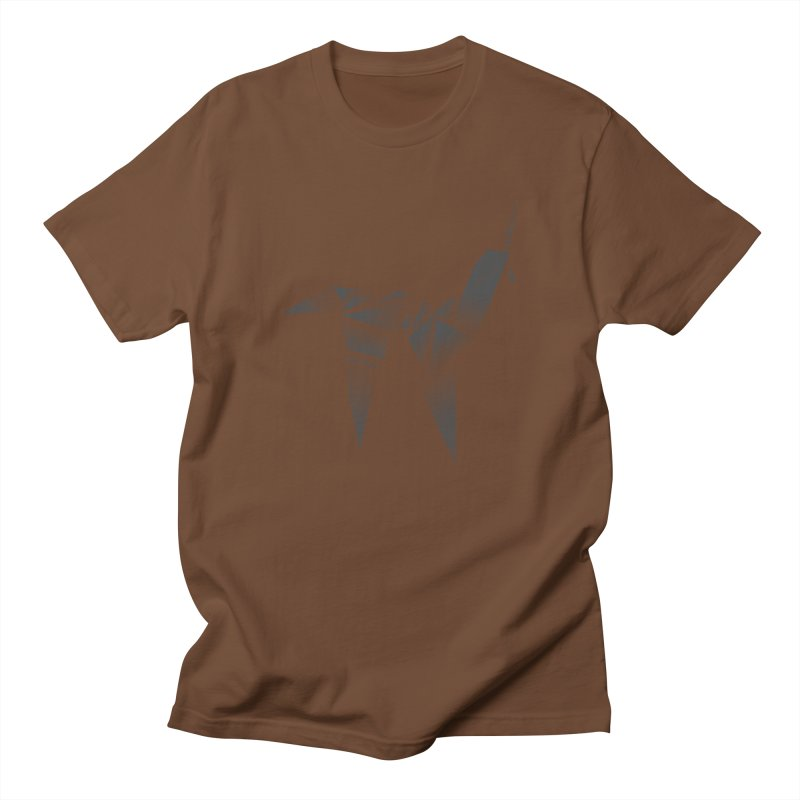 Origami Unicorn Men's T-Shirt by Urban Prey's Artist Shop