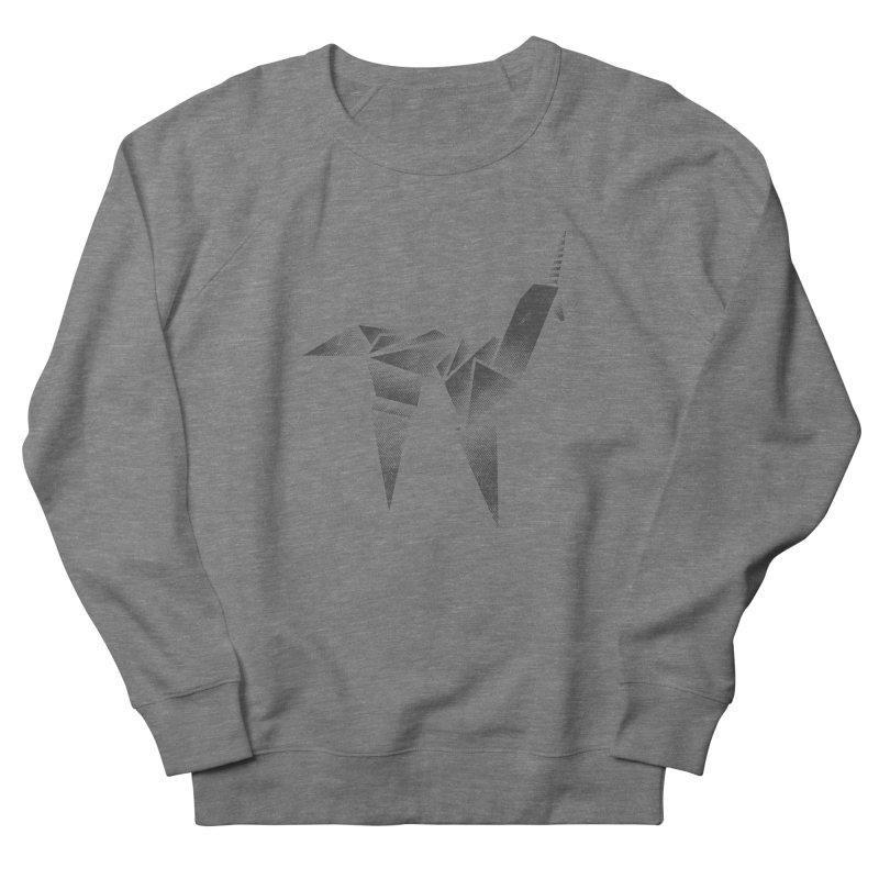 Origami Unicorn Women's Sweatshirt by Urban Prey's Artist Shop
