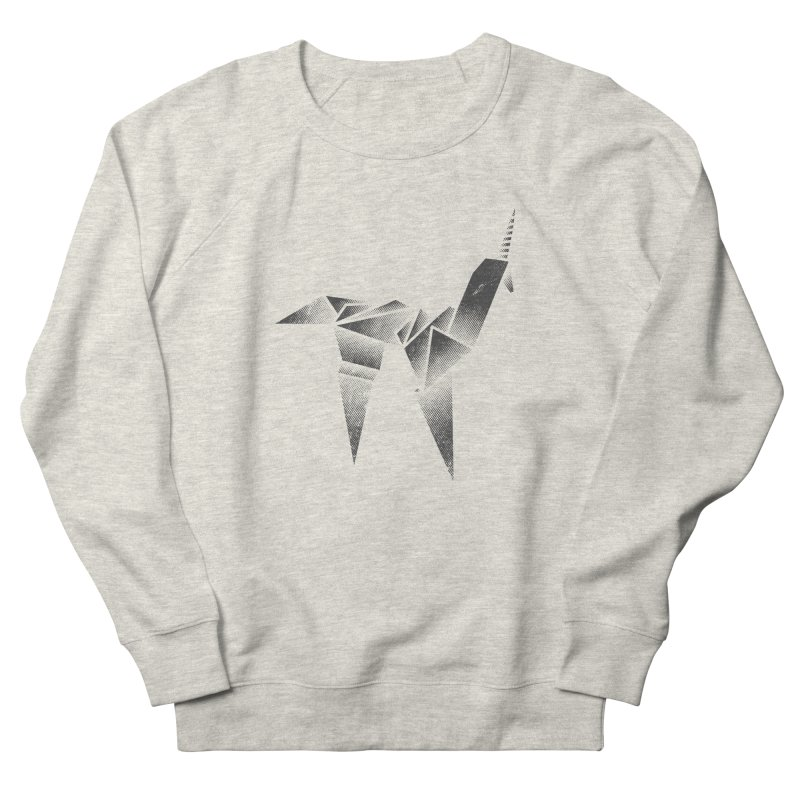 Origami Unicorn Women's Sweatshirt by Urban Prey's Artist Shop