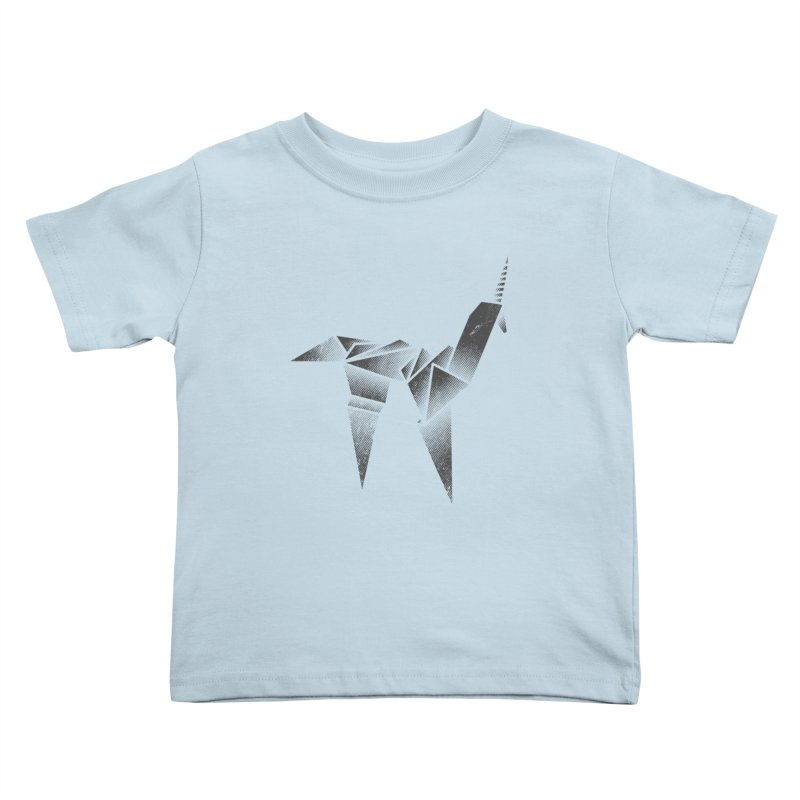 Origami Unicorn Kids Toddler T-Shirt by Urban Prey's Artist Shop