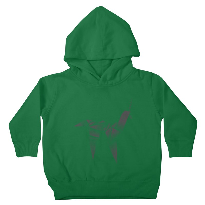 Origami Unicorn Kids Toddler Pullover Hoody by Urban Prey's Artist Shop