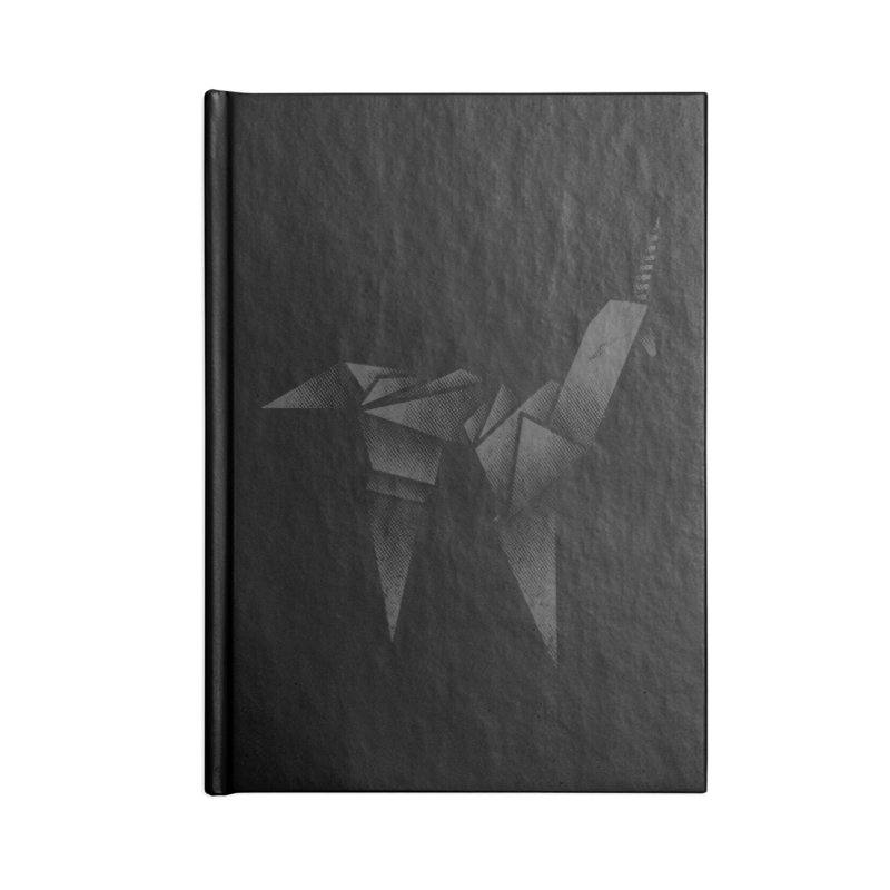 Origami Unicorn Accessories Notebook by Urban Prey's Artist Shop