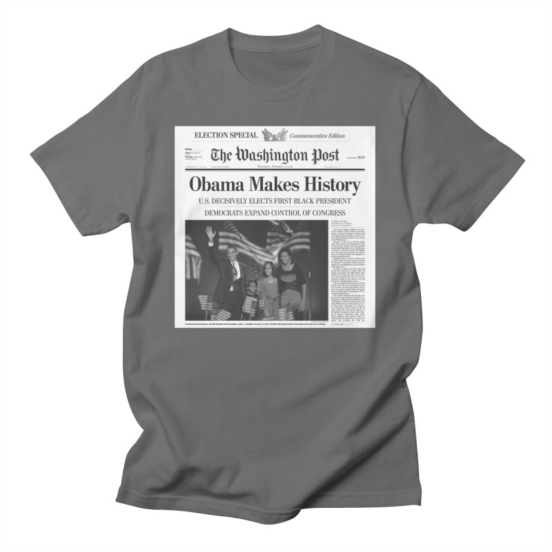 Obama Makes History Women's T-Shirt by URBAN TREE CANOPY