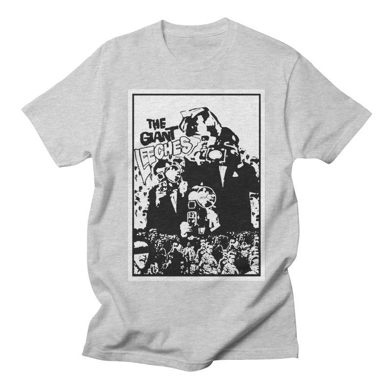 The Giant Leeches Men's T-shirt by urhere's Artist Shop