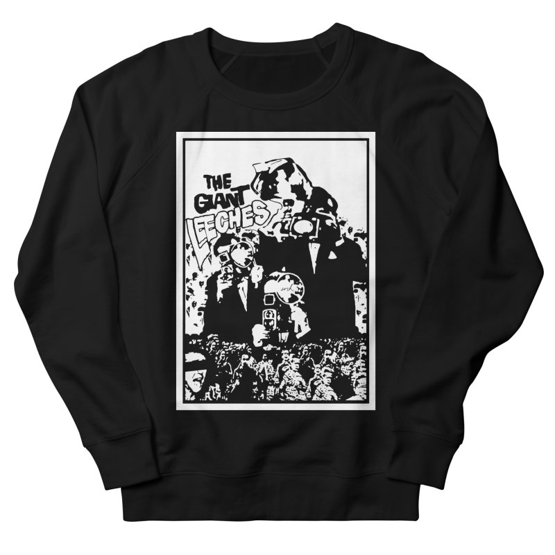 The Giant Leeches Men's Sweatshirt by urhere's Artist Shop