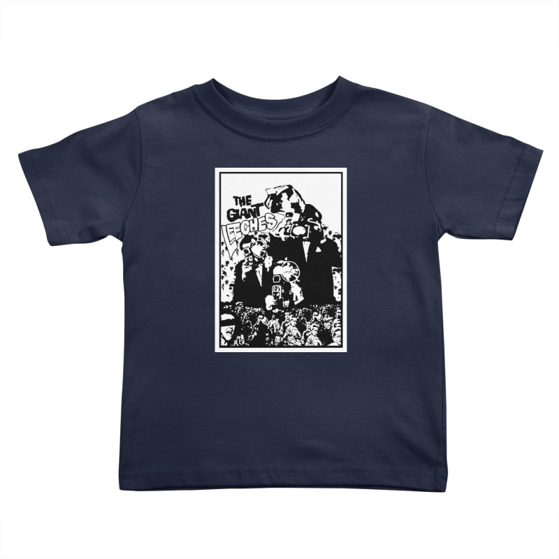 The Giant Leeches Kids Toddler T-Shirt by urhere's Artist Shop