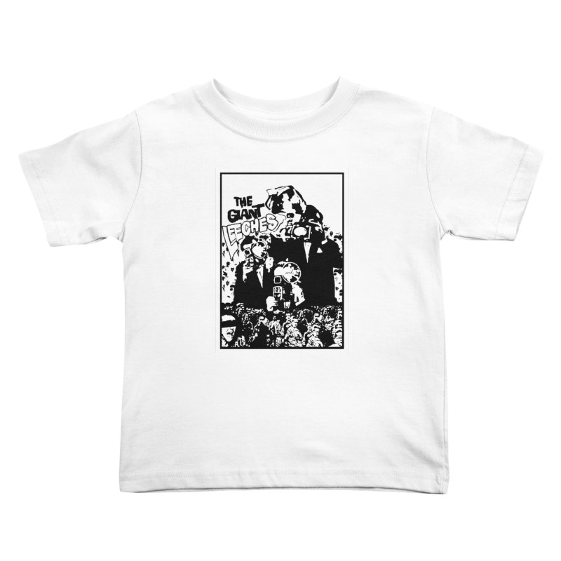 The Giant Leeches Kids Toddler T-Shirt by urhere's Artist Shop