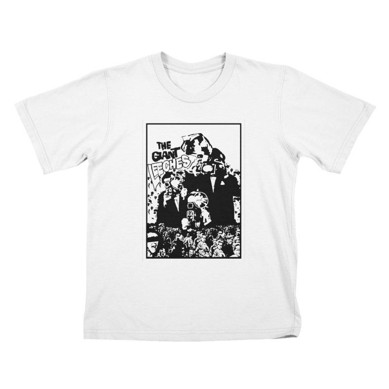 The Giant Leeches Kids T-Shirt by urhere's Artist Shop