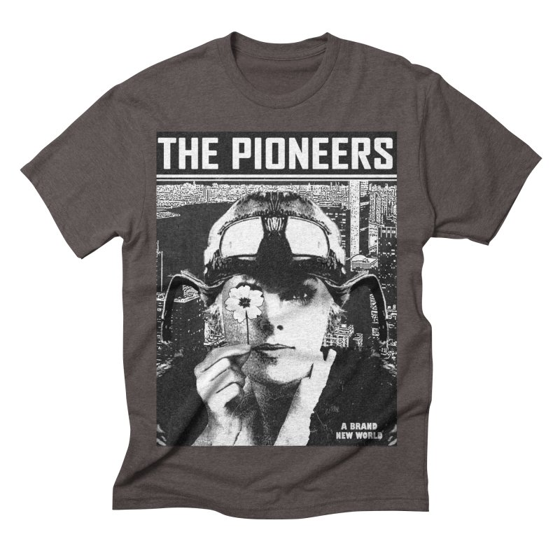 The Pioneers Men's Triblend T-shirt by urhere's Artist Shop