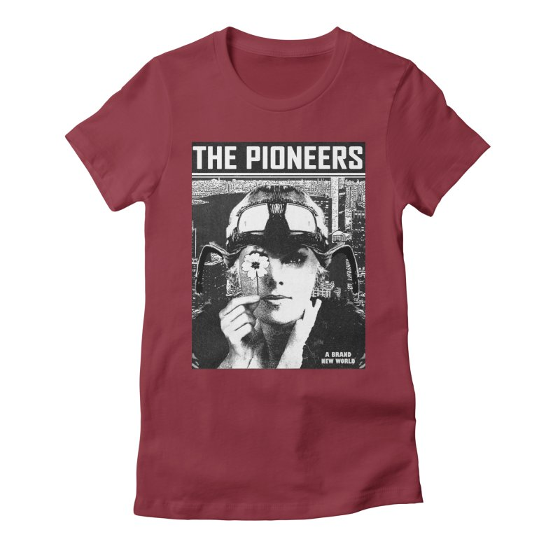 The Pioneers Women's Fitted T-Shirt by urhere's Artist Shop