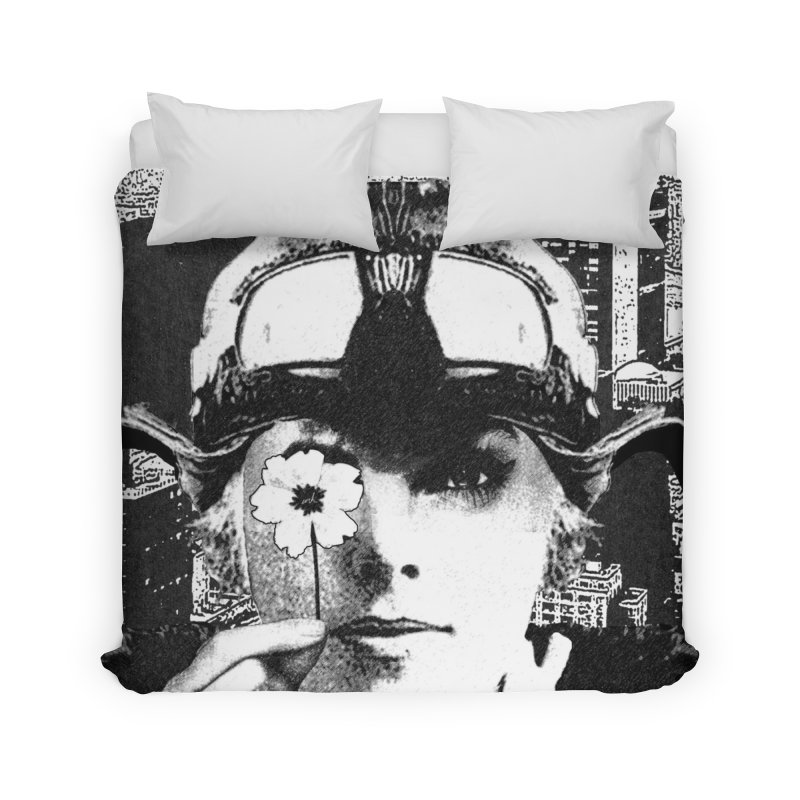 The Pioneers Home Duvet by urhere's Artist Shop