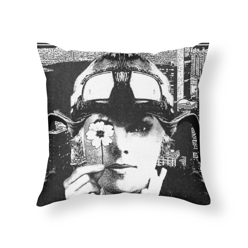 The Pioneers Home Throw Pillow by urhere's Artist Shop