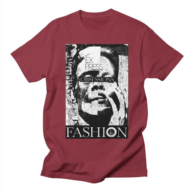 Express Obsessions Men's T-Shirt by urhere's Artist Shop