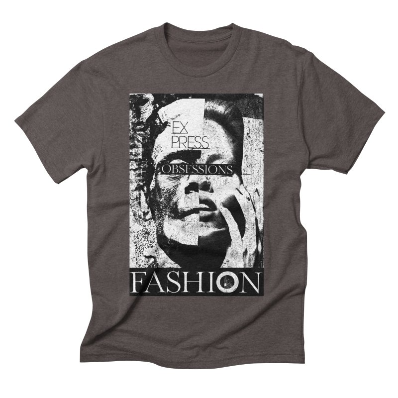 Express Obsessions Men's Triblend T-Shirt by urhere's Artist Shop