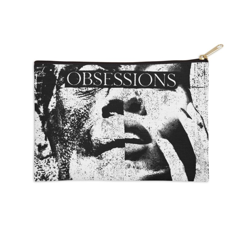 Express Obsessions Accessories Zip Pouch by urhere's Artist Shop