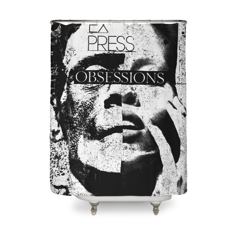 Express Obsessions Home Shower Curtain by urhere's Artist Shop