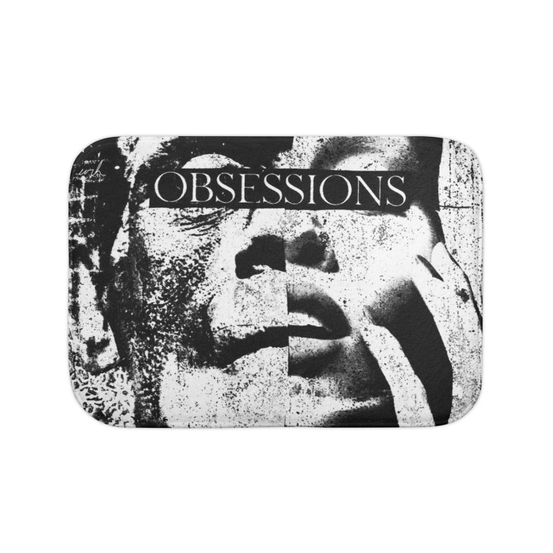 Express Obsessions Home Bath Mat by urhere's Artist Shop