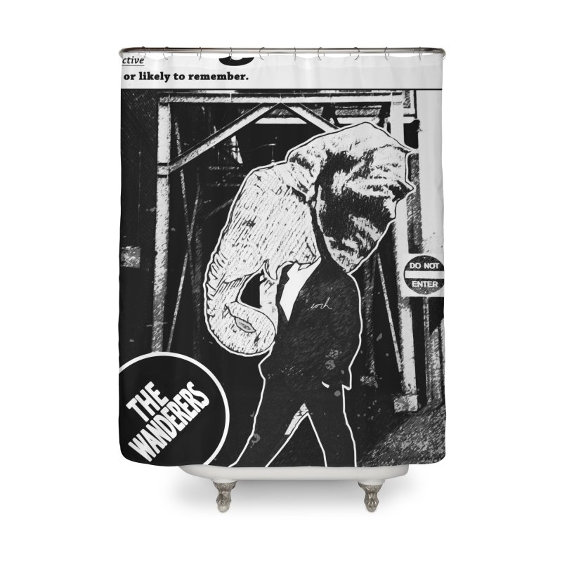 The Wanderers Home Shower Curtain by urhere's Artist Shop