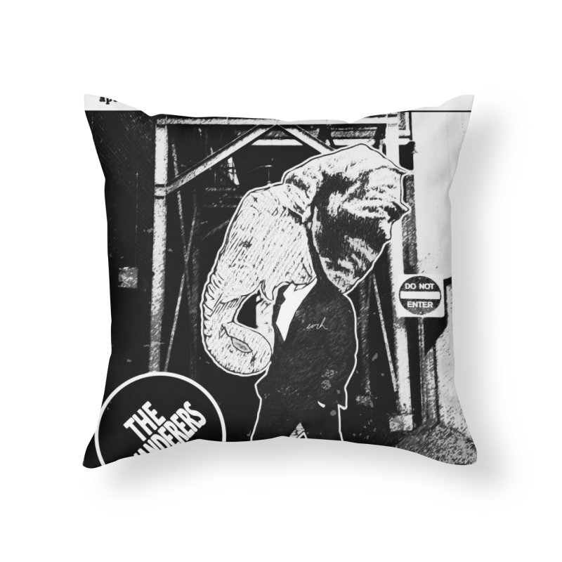 The Wanderers Home Throw Pillow by urhere's Artist Shop