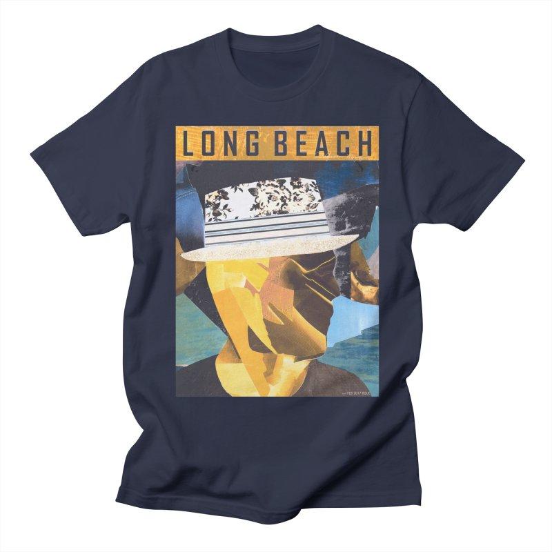 Long Beach Magazine Men's T-shirt by urhere's Artist Shop