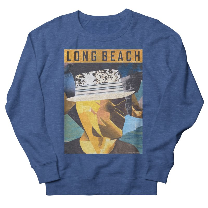 Long Beach Magazine Men's Sweatshirt by urhere's Artist Shop