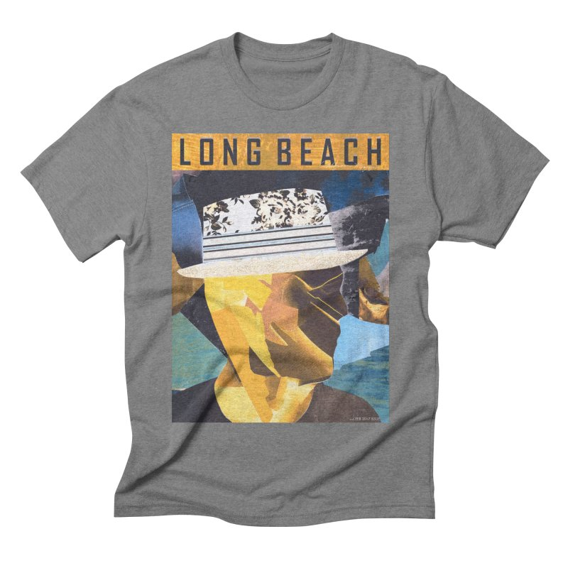 Long Beach Magazine Men's Triblend T-Shirt by urhere's Artist Shop