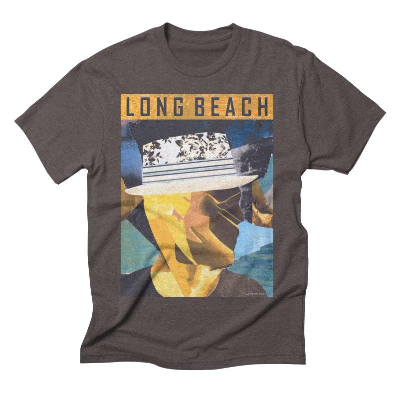 Long Beach Magazine Men's Triblend T-Shirt by urhere's Artist Shop