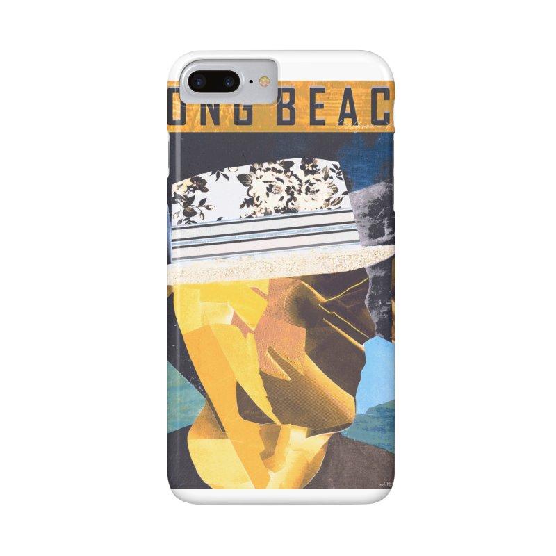 Long Beach Magazine Accessories Phone Case by urhere's Artist Shop