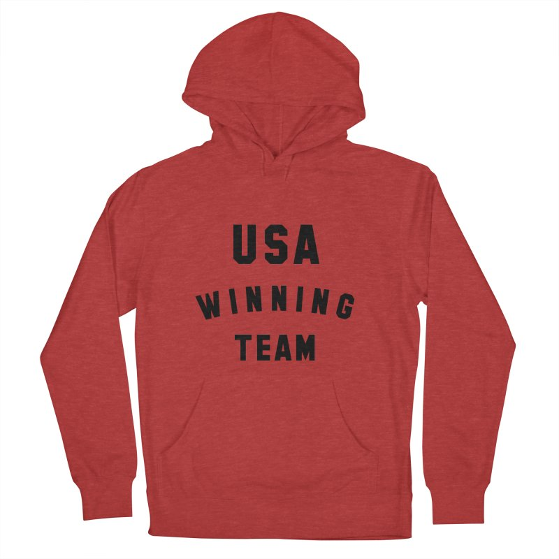 USA WINNING TEAM Women's French Terry Pullover Hoody by USA WINNING TEAM™