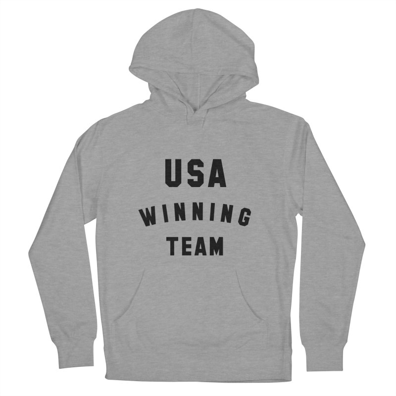 USA WINNING TEAM Men's French Terry Pullover Hoody by USA WINNING TEAM™