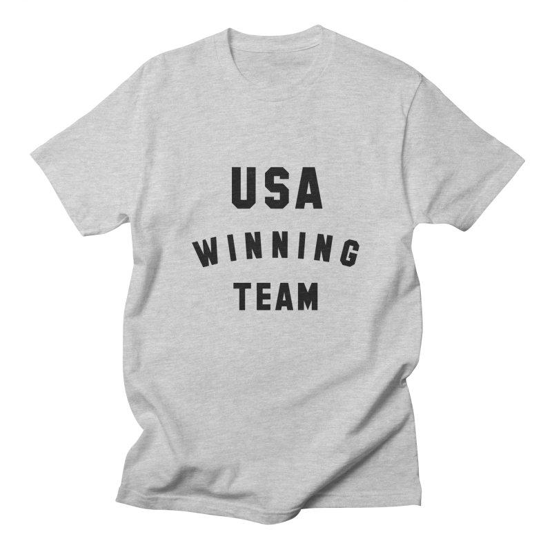 USA WINNING TEAM Men's Regular T-Shirt by USA WINNING TEAM™