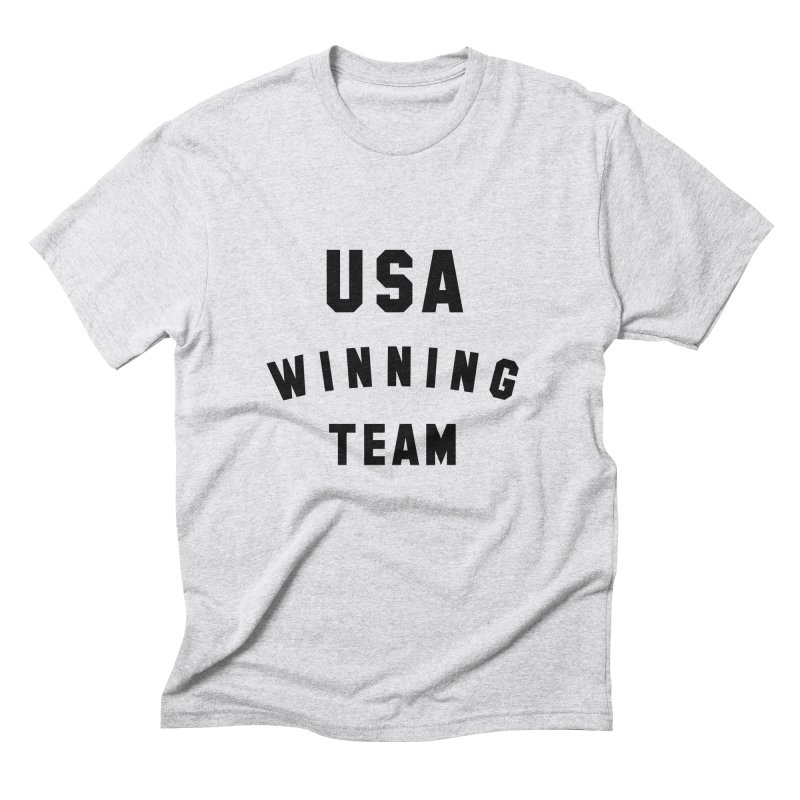 USA WINNING TEAM Men's Triblend T-Shirt by USA WINNING TEAM™