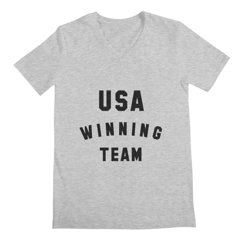 USA WINNING TEAM Men's Regular V-Neck by USA WINNING TEAM™