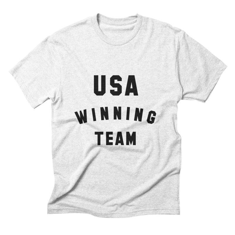 USA WINNING TEAM Men's Triblend T-shirt by USA WINNING TEAM™