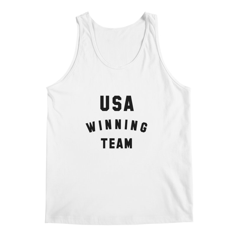 USA WINNING TEAM in Men's Tank White by USA WINNING TEAM™