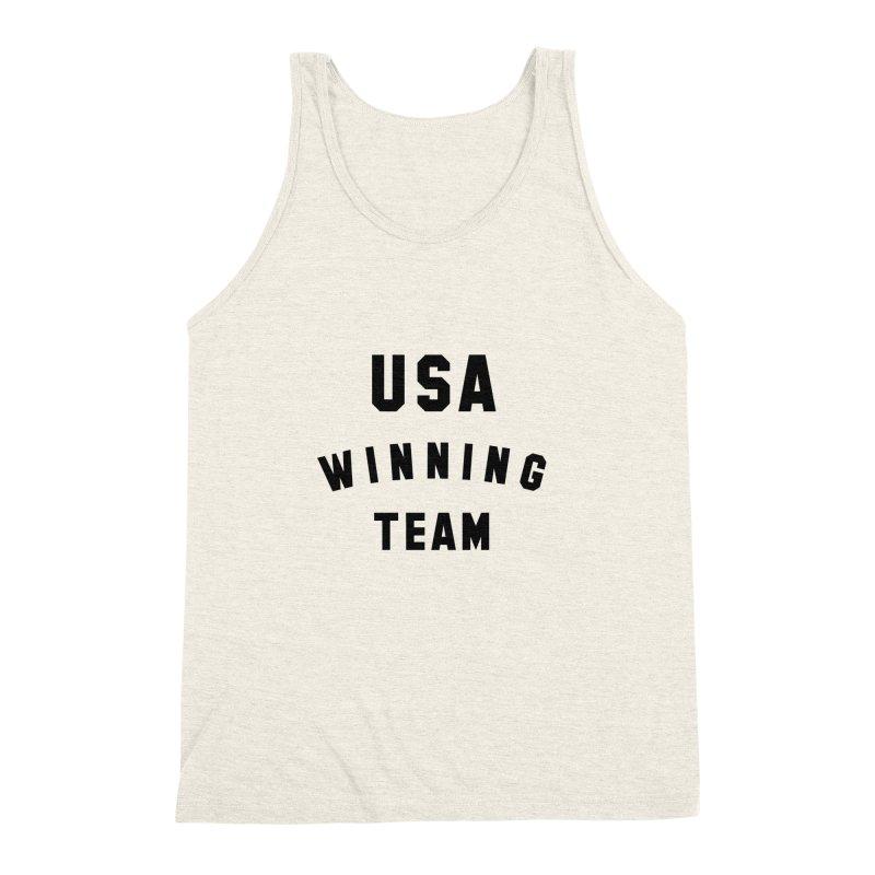 USA WINNING TEAM Men's Triblend Tank by USA WINNING TEAM™