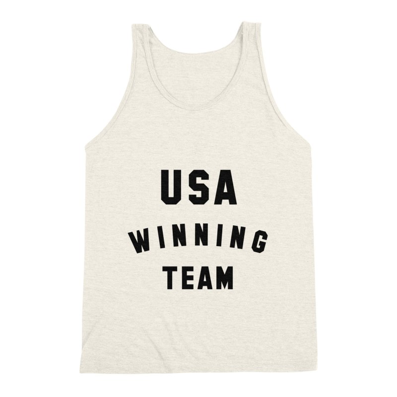 USA WINNING TEAM Men's Triblend Tank by USA WINNING TEAM™