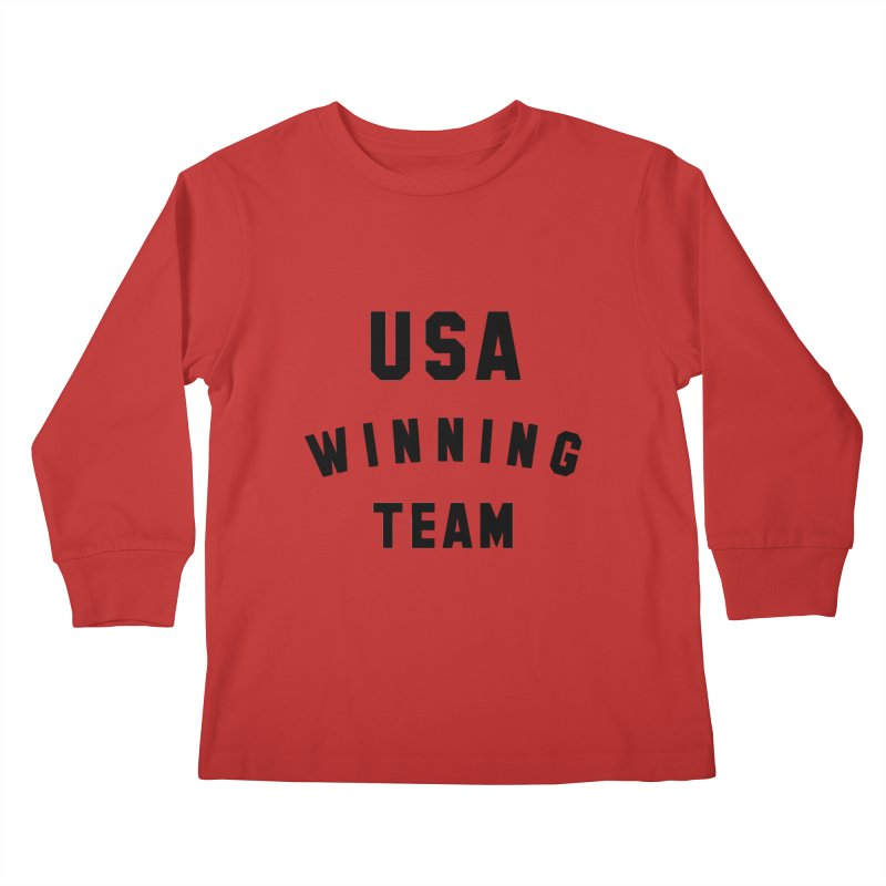 USA WINNING TEAM Kids Longsleeve T-Shirt by USA WINNING TEAM™