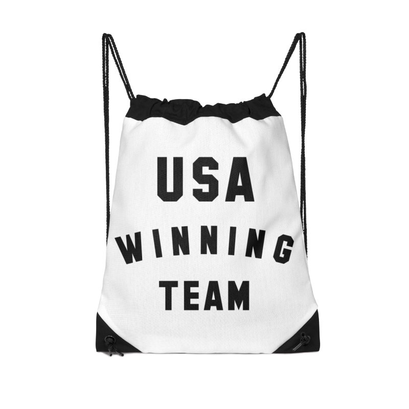 USA WINNING TEAM Accessories Drawstring Bag Bag by USA WINNING TEAM™