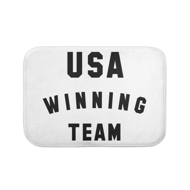 USA WINNING TEAM Home Bath Mat by USA WINNING TEAM™