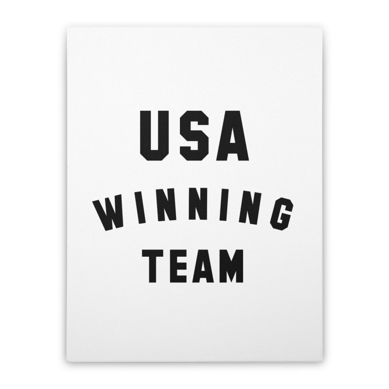 USA WINNING TEAM Home Stretched Canvas by USA WINNING TEAM™