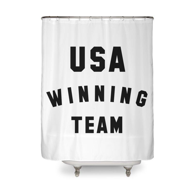 USA WINNING TEAM Home Shower Curtain by USA WINNING TEAM™