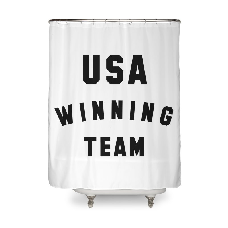 USA WINNING TEAM Home Shower Curtain by USA WINNING TEAM™