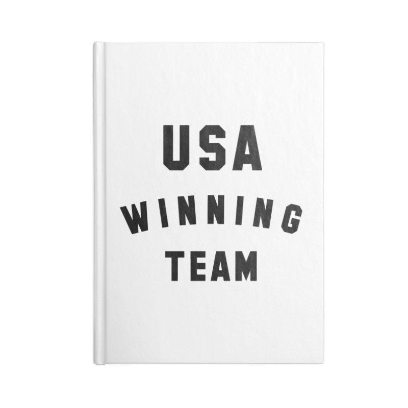 USA WINNING TEAM Accessories Notebook by USA WINNING TEAM™