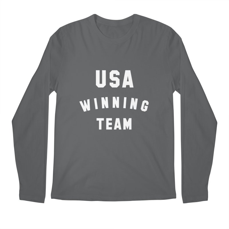 USA WINNING TEAM Men's Regular Longsleeve T-Shirt by USA WINNING TEAM™